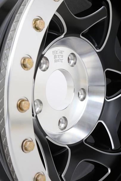 Walker Evans Racing Beadlock Wheels | Legend II | 17x8.5 | Satin Black w. Accents