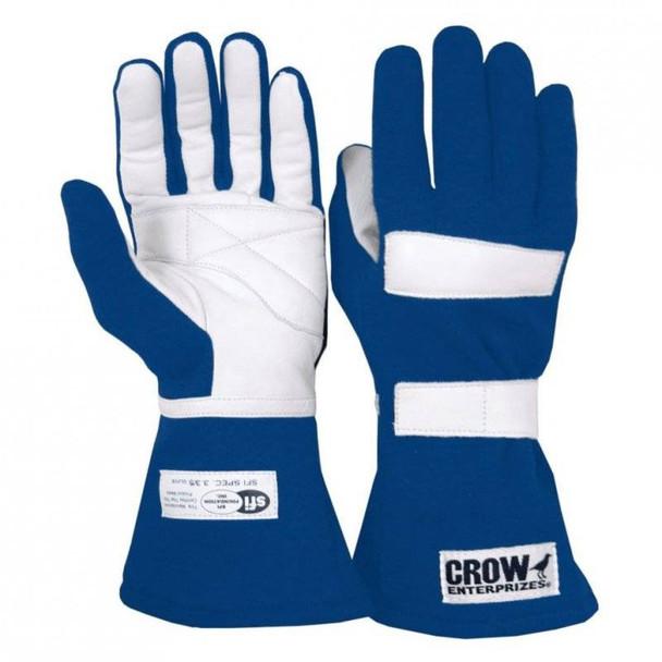 Racing Gloves | Crow | Standard Black Driving Gloves