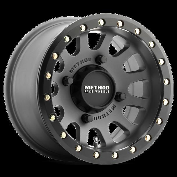 Method Race Wheels | UTV Beadlock | 401 | Titanium at renooffroad.com