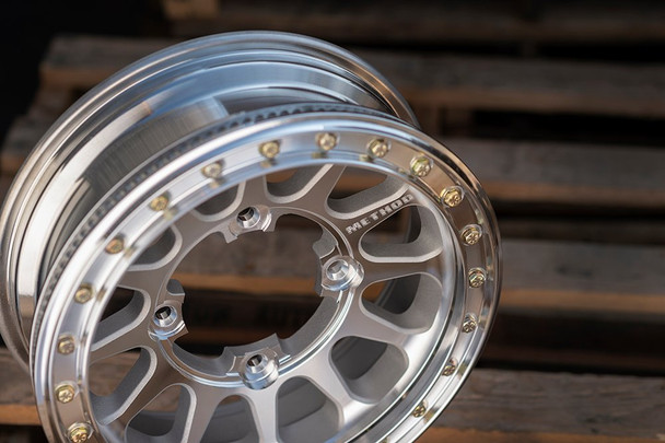 Method Race Wheels | UTV  Beadlock | 401 | Machined Finish