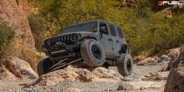 Fuel Wheels | Unit | Model D120 | 17x9 www.renooffroad.com