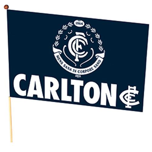 Carlton Crest Medium Flag