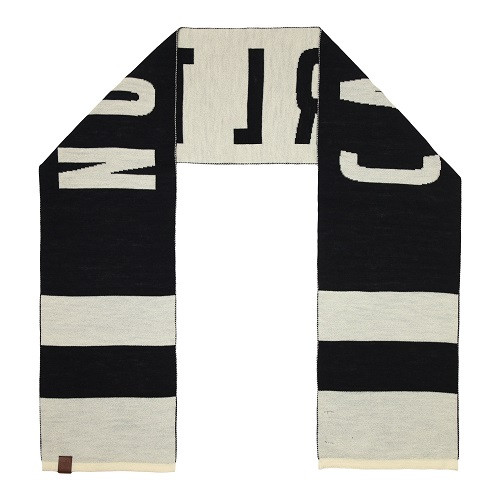 Carlton Fibre of Football Team Scarf