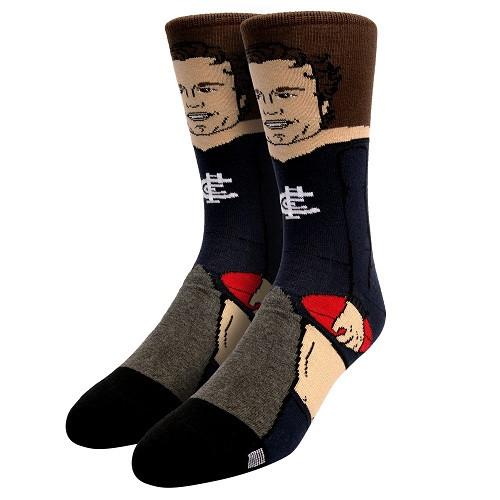 Carlton Jack Silvagni Nerd Socks - Large