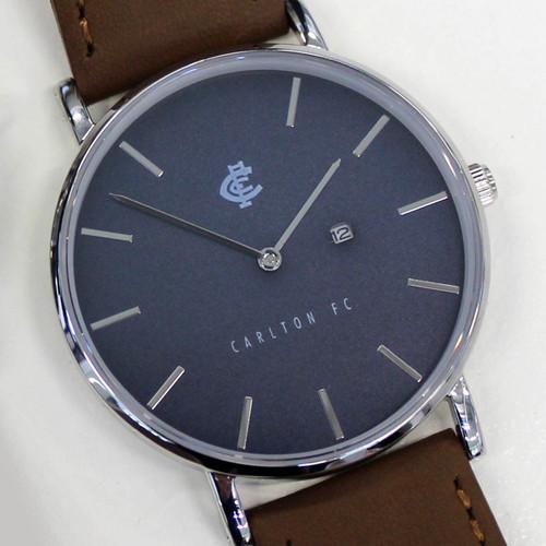 Carlton Monogram Watch - Navy