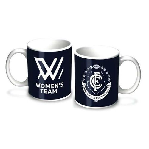 Carlton AFLW Team Mug