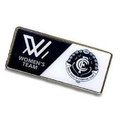 Carlton AFLW Team Pin