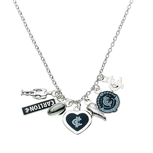 Carlton Pendant with Charms