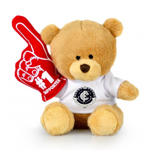 Carlton No 1 Supporter Bear - 15cm