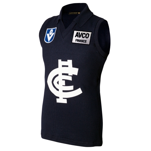Carlton Fibre of Football AVCO Guernsey