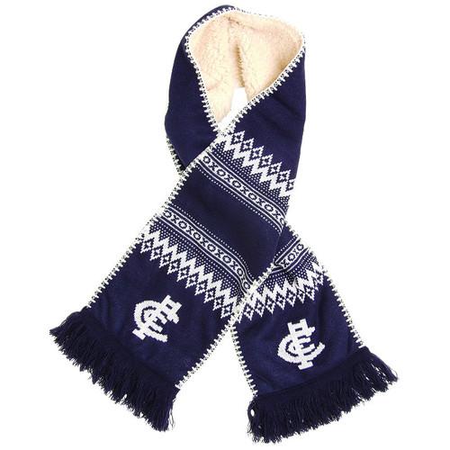 Carlton Fluffy Knit Scarf