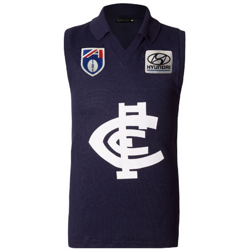 Carlton Fibre of Football Hyundai Guernsey