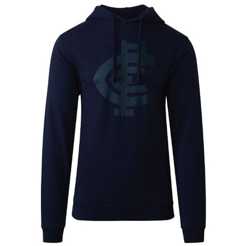 Carlton CFC Collection Pullover Hood - Navy - Mens