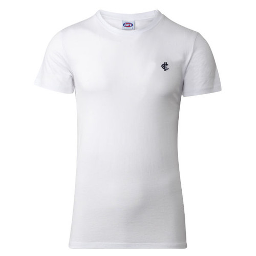 Carlton CFC Collection Tee - White - Mens