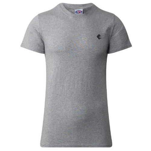 Carlton CFC Collection Tee - Grey - Mens