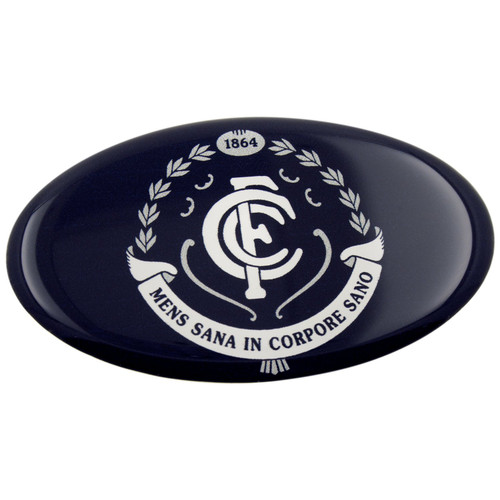 Carlton Fan Emblem Lensed Team Decal