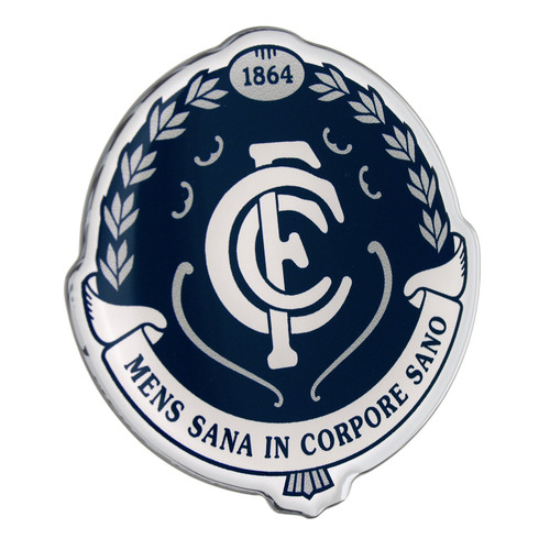 Carlton Fan Emblem Chrome Decal