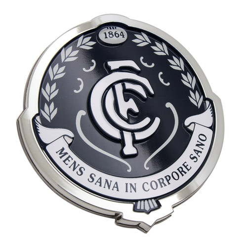 Carlton Fan Emblem 3D Chrome Emblem Decal