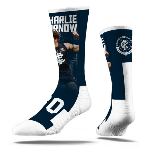 Carlton Strideline Charlie Curnow Socks