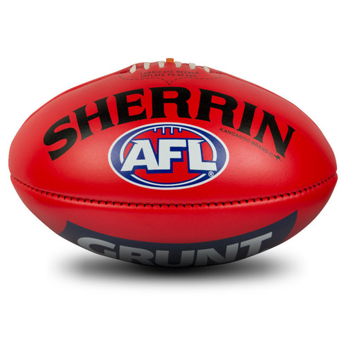 Carlton AFL Official Game Ball - Red
