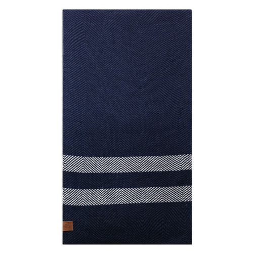Carlton Fibre of Football Wool Throw Rug