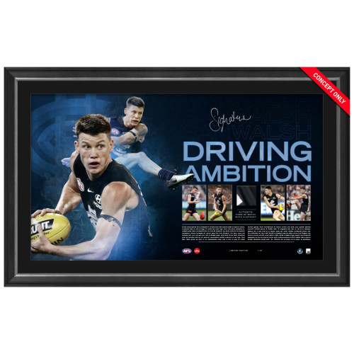 Sam Walsh Signed Driving Ambition Lithograph
