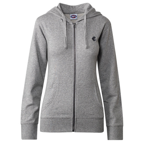 Carlton CFC Collection Zip Up Hood - Grey - Womens