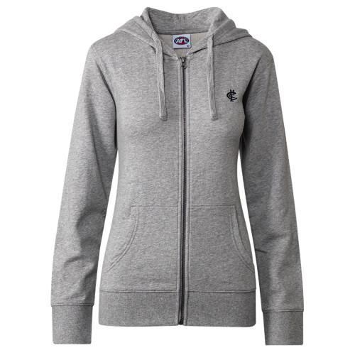 Carlton CFC Collection Zip Up Hood - Grey - Womens