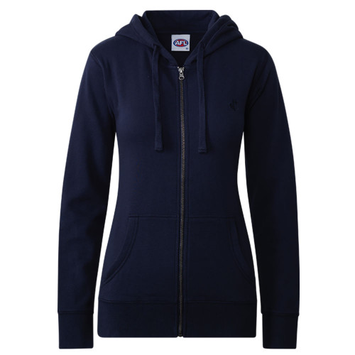 Carlton CFC Collection Zip Up Hood - Navy - Womens