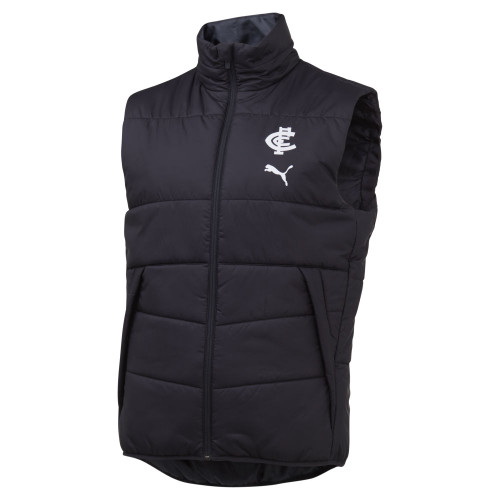 Carlton 20/21 PUMA Padded Vest - Adults