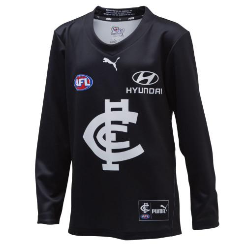 Carlton 2020 PUMA Replica Long Sleeve Home Guernsey - Youth