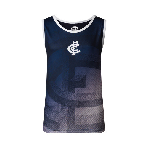 Carlton S19 Youth Premium Singlet