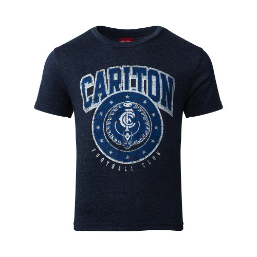 Carlton S19 Youth Tee and Singlet Pack