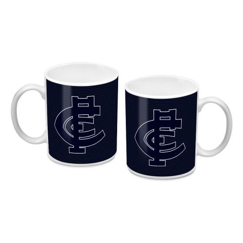 Carlton Blue Out Mug