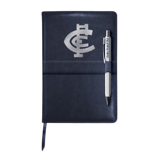 Carlton Notebook & Pen Gift Pack
