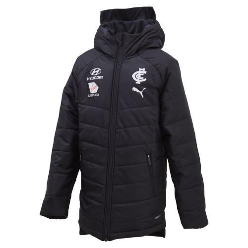 Carlton 2020 PUMA Coaches Jacket - Youth