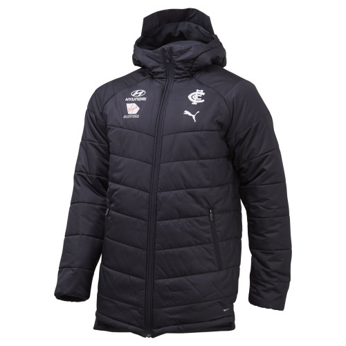 Carlton 20/21 PUMA Coaches Jacket - Adults