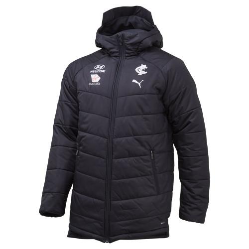 Carlton 2020 PUMA Coaches Jacket - Adults