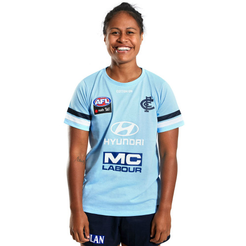 Carlton 2020 AFLW Coaches Tee - Womens
