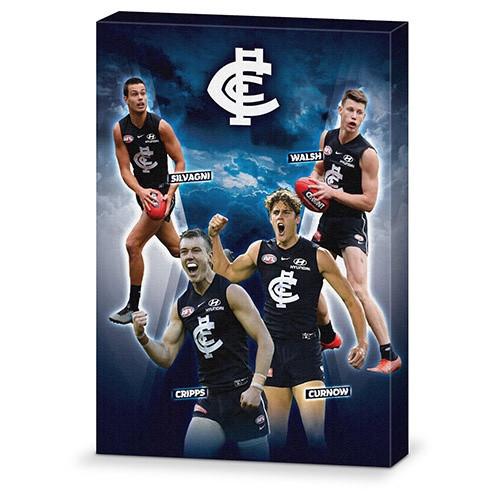 Carlton 4 Player Canvas