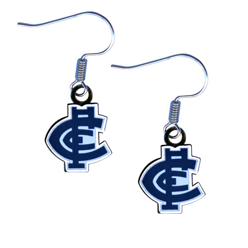 Carlton Logo Earrings