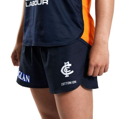 Carlton 2020 AFLW Run Short - Womens