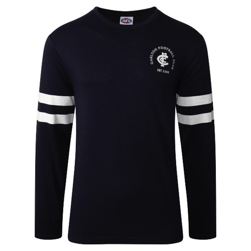 Carlton W20/21 Mens Supporter Long Sleeve Tee