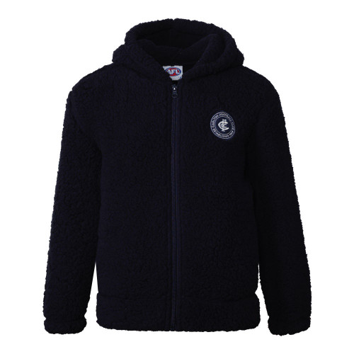 Carlton W20 Youth Sherpa Fleece Hood