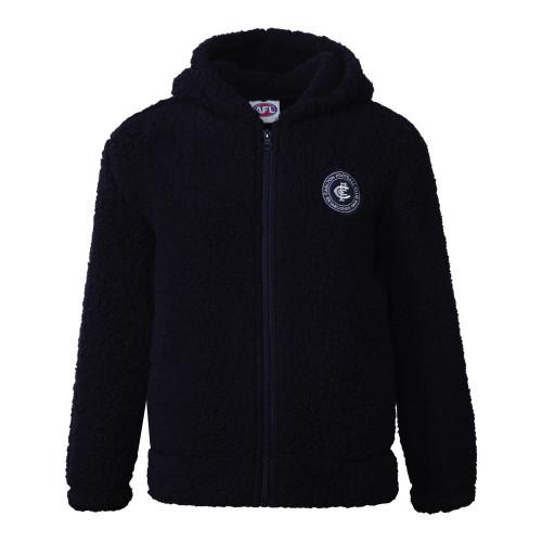Carlton W20 Youth Sherpa Fleece Hood