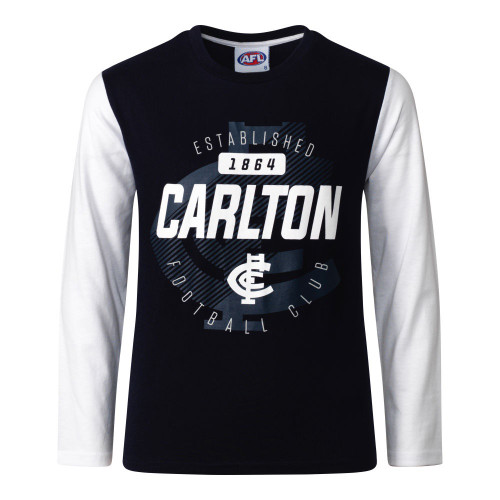 Carlton W20 Youth Supporter Long Sleeve Tee