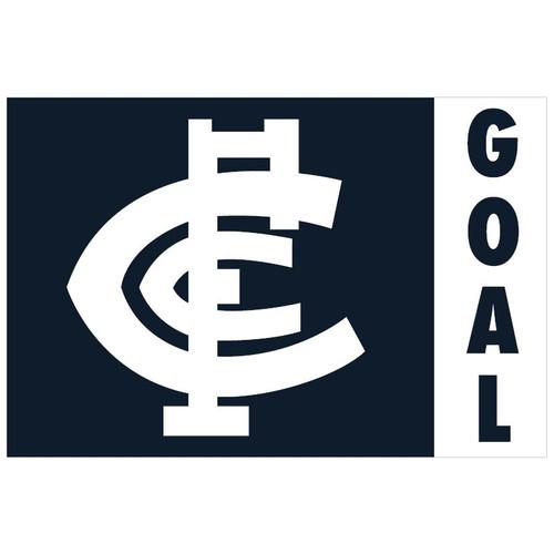 Carlton Monogram Flag - Large
