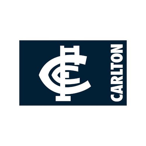 Carlton Monogram Flag - Medium