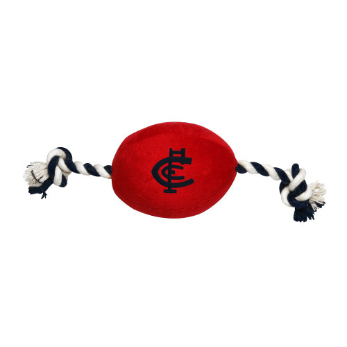 Carlton Pets Supporter Football Toy