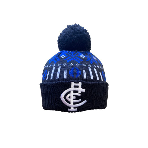 Carlton Supporter Ugly Beanie